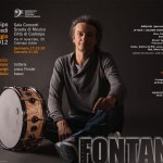23 maggio: seminario e concerto di Andrea Fontana (batterista di Elisa, Tiziano Ferro, Ivano Fossati…)