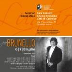 6-8 luglio…tre giorni dedicati all'oboe con Paolo Brunello – seminario e concerto