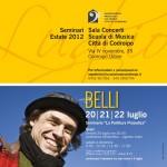 """20-22 luglio: Matteo Belli – seminario """"La partitura prosodica"""""""