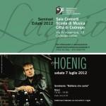 """Sabato 7 luglio: """"la batteria che canta"""" seminario con Ari Hoenig"""