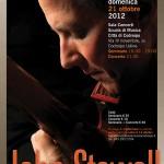 21 ottobre: seminario e concerto con John Stowell