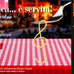 """seconda edizione de """"La musica…è servita!"""" – 2, 3, 4 E 5 OTTOBRE – CORTE BAZAN GORICIZZA DI CODROIPO"""