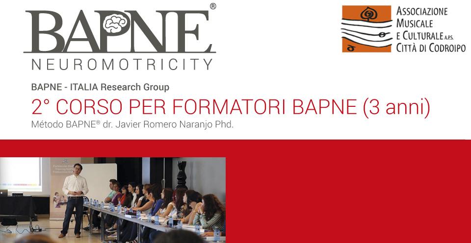 2° CORSO DI FORMAZIONE BAPNE ottobre 2016 – maggio 2017 – bapneitalia@gmail.com