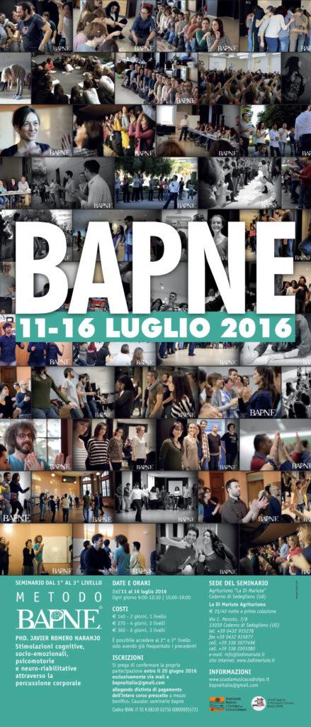 LOCANDINA BAPNE 11-16 LUGLIO 2016