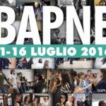 11 -16 luglio – seminario BAPNE (seconda settimana)