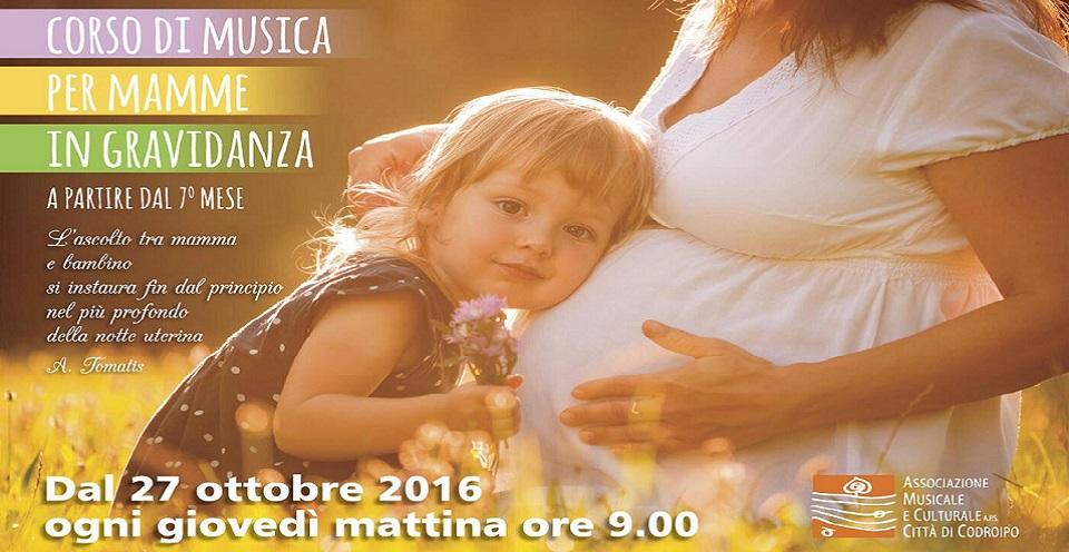 CORSO DI MUSICA PER MAMME IN GRAVIDANZA!