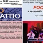 Sabato 5 agosto 2017 Corte del Museo Civico delle Carrozze d'Epoca di San Martino di Codroipo – ore 21.00: FOOLS  a sproposito di felicità..!