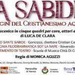 Domenica 8 aprile 2018 – ore 17.00 Chiesa parrocchiale di Varmo – LA SABIDE