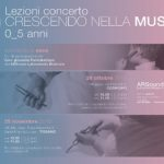 Domenica 28 ottobre 2018 dalle ore 10.00: CRESCENDO NELLA MUSICA lezioni concerto per bambini 0_5 anni