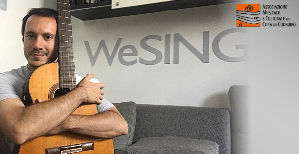 WeSING: cantare in pratica Masterclass di Michele Fischietti – 1 e 2 giugno TERMINE ISCRIZIONI PROROGATO AL 26 MAGGIO